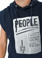 People By Fabrika Sweatshirt Lacivert